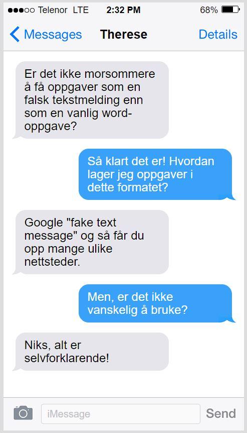 faketext